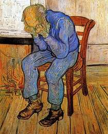 Old Man in Sorrow - Vincent van Gogh 1890