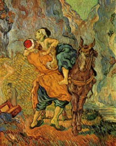 painting: The Good van Gogh Samaritan, by Vincent