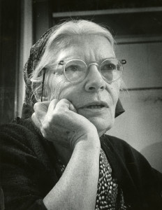 Close up of Dorothy Day