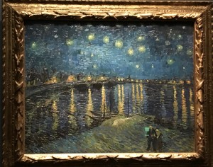 Starry Night Over the Rhone by Vincent van Gogh Photo: Mary van Balen