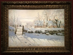 The Magpie by Claude Monet 1869
