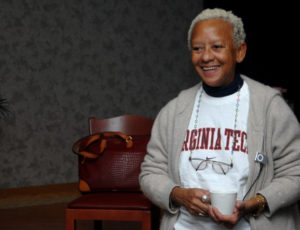 Photo of poet Nikki Giovanni