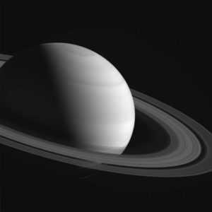 Saturn from Cassini spacecraft